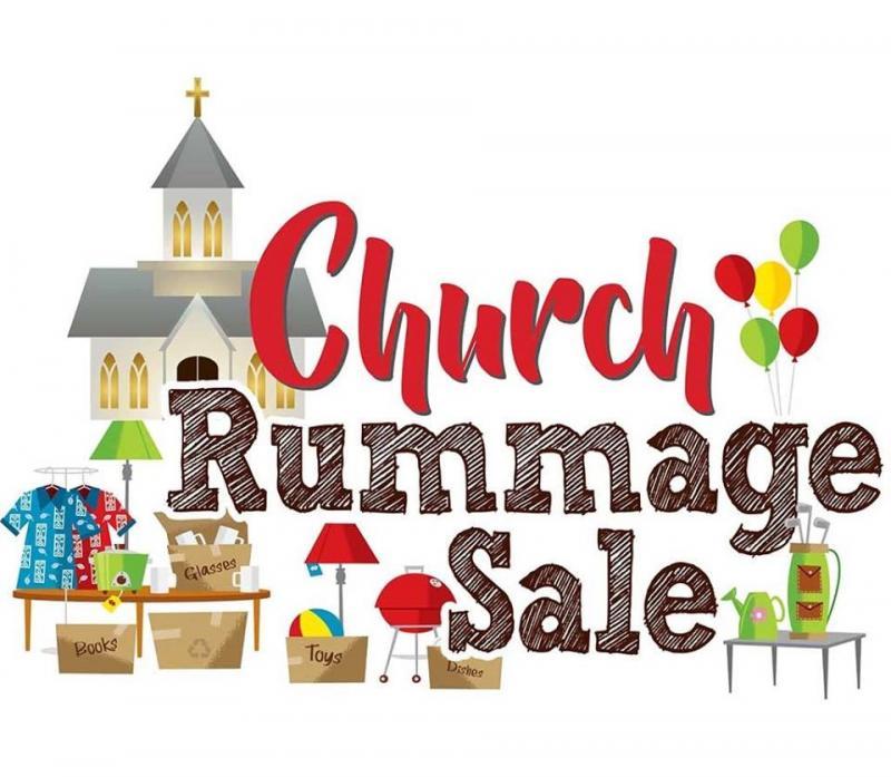 church rummage sale