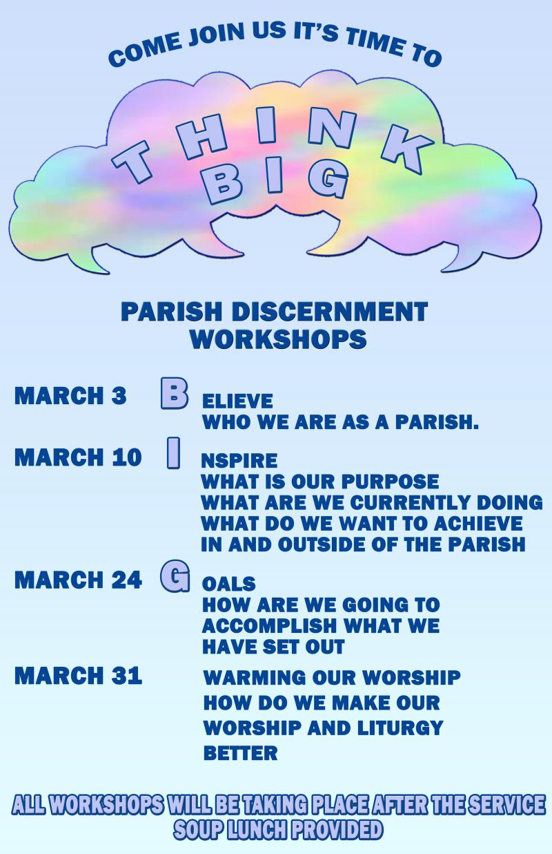 Parish Workshops